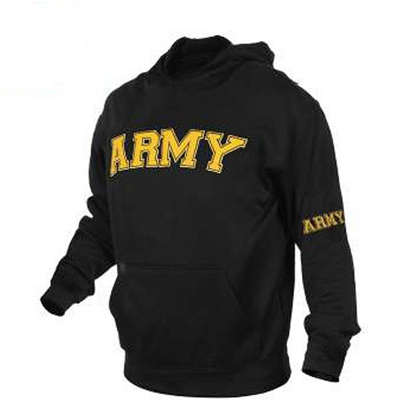 Military Embroidered Pullover Hoodies | Army