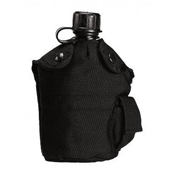 G.I. Type Enhanced Nylon 1qt. Canteen Cover | Black