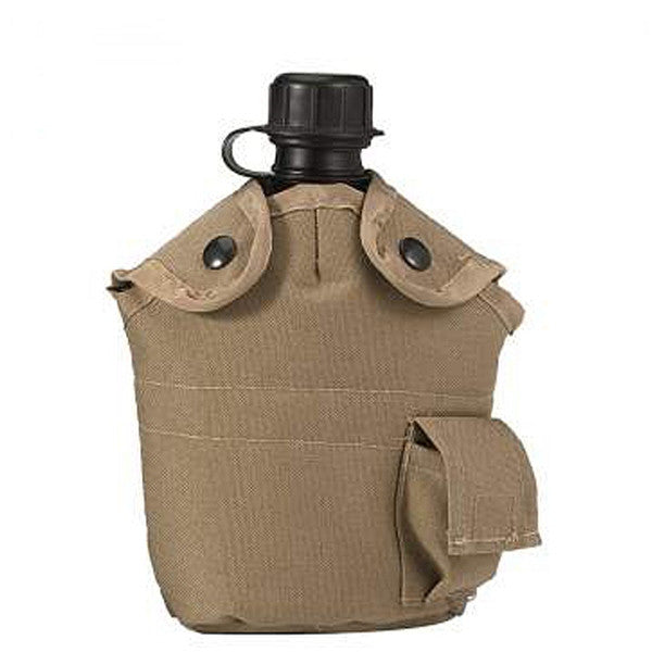 G.I. Type Enhanced Nylon 1qt. Canteen Cover | Khaki - KHAKI
