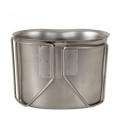 GI Style Stainless Steel Canteen Cup - STNLSS STE