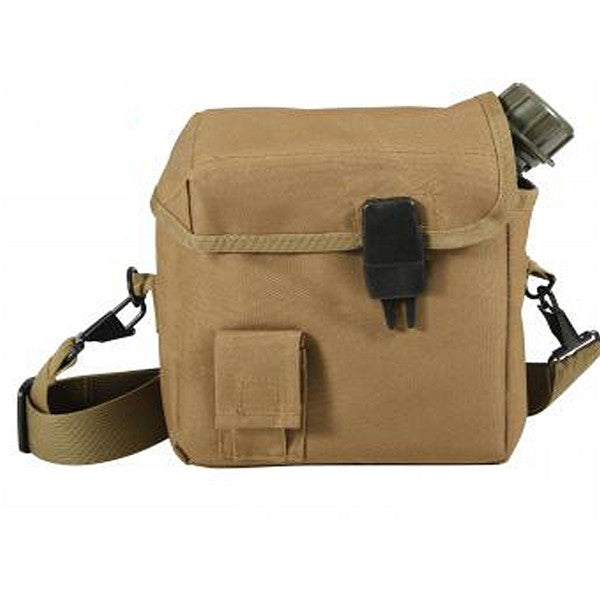 MOLLE 2 QT. Bladder Canteen Cover | Coyote Brown