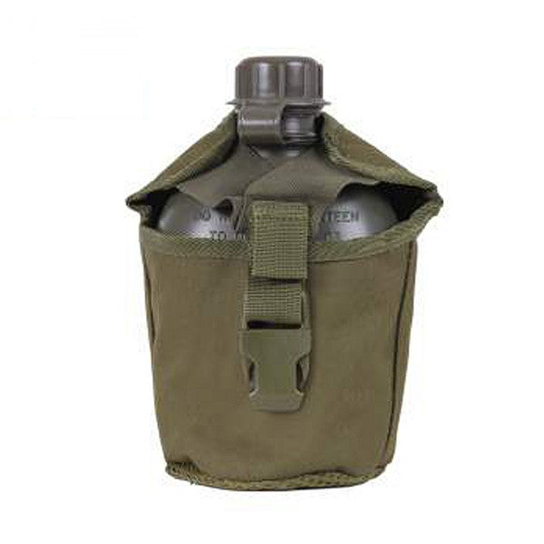 MOLLE Compatible 1 Quart Canteen Cover | Olive Drab