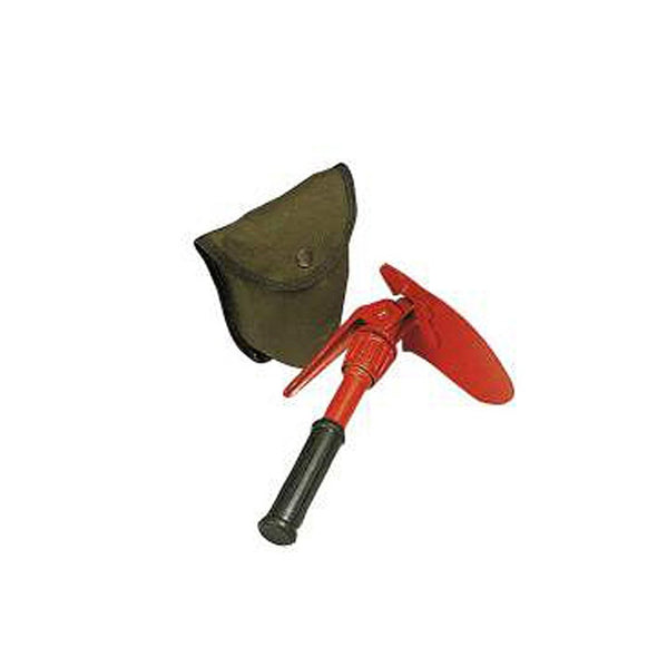 Orange Mini Pick & Shovel with Cover