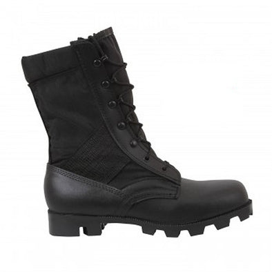 Black G.I. Type Speedlace Jungle Boot - BLACK