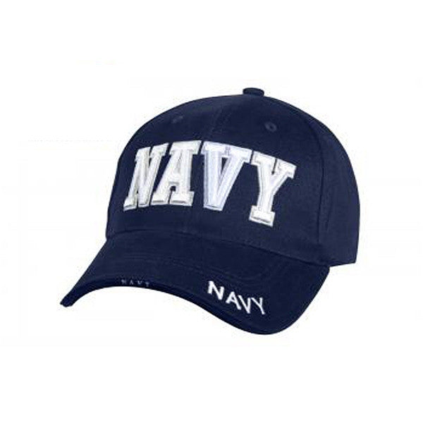 Deluxe Navy Low Profile Cap - NAVY