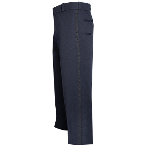 "NYPD style Admin Pant Men's with 1/2"" Black Braid & Flex Waist"