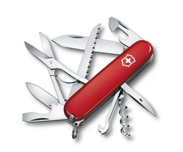Huntsman Swiss Army Knife in Red