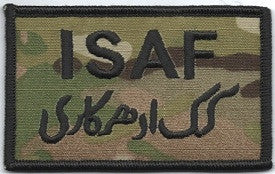 ISAF Patch Velcro | Black trim