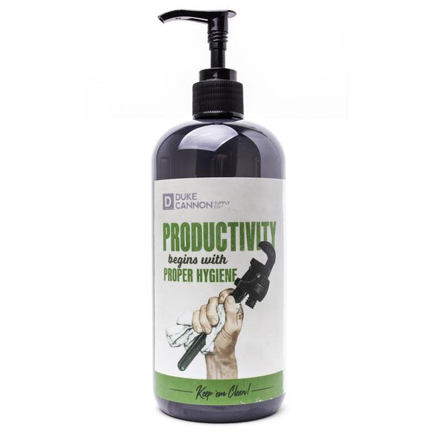 Duke Cannon 17oz. Hand Soap | Productivity or Naval Supremacy