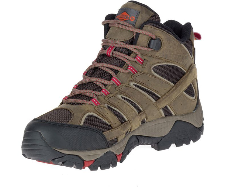 Merrell Women's Moab 2 Vent Mid Waterproof Comp Toe Work Boot
