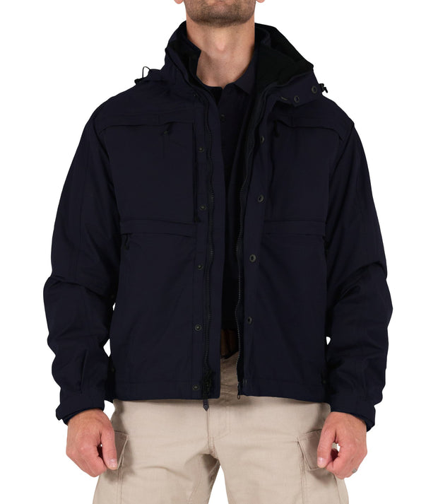 Tactix System Jacket 3 in 1 Waterproof Breathable | Black or Navy