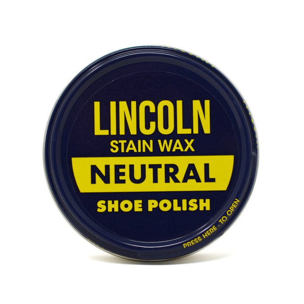 Lincoln Original Stain Wax Shoe Polish - Neutral