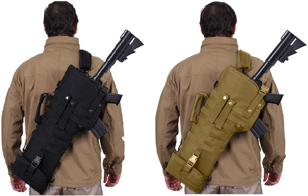 Molle Tactical Rifle Scabbard / Holster | Black or Coyote