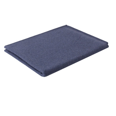Navy Blue Wool Emergency Blanket