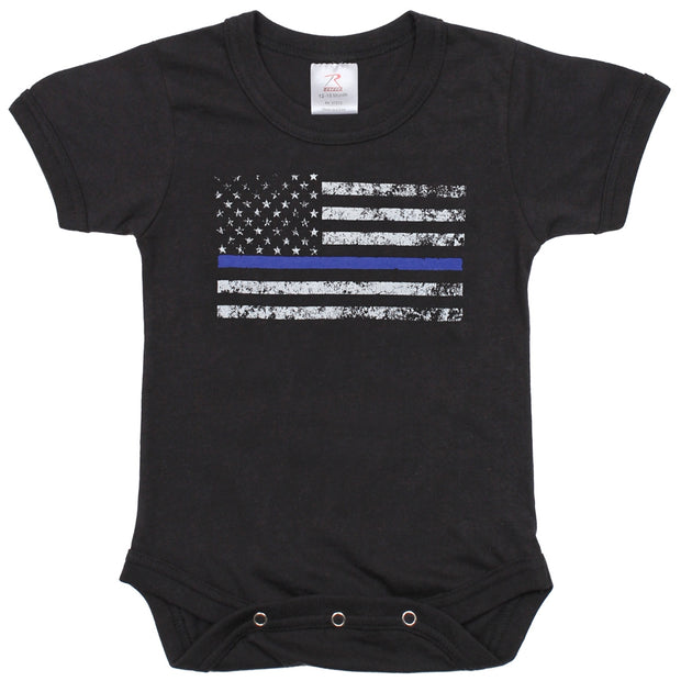 Thin Blue Line Infant Onesie