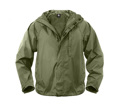 Packable Rain Jacket | Olive
