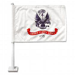 Double Sided 2 Ply Car Flags | USA, Army, Navy, Marine