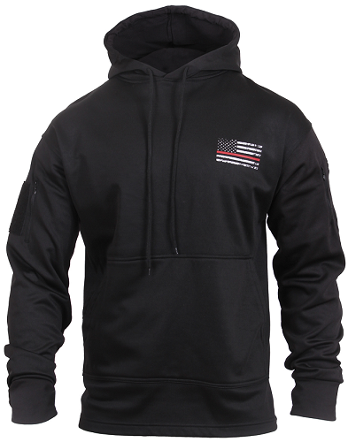 Thin Red Line Conceal Carry Hooded Sweatshirt