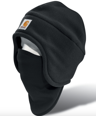 Carhartt Fleece 2-in-1 Headwear | Black
