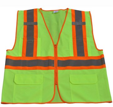 HI VIS Two Tone Dot Class II Safety Vest