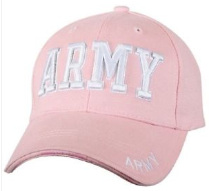 Low Profile Insignia Hat | Army | Pink