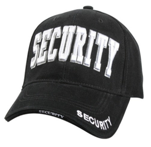 Low Profile Insignia Hat | Security | Black