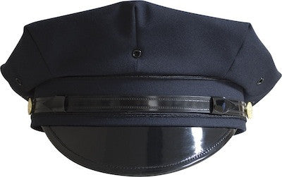 NYPD Patrol Hat 8 Point with NYC Gold Buttons