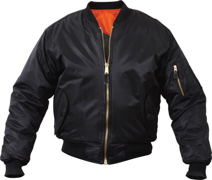 MA-1 Flight Jacket | Black