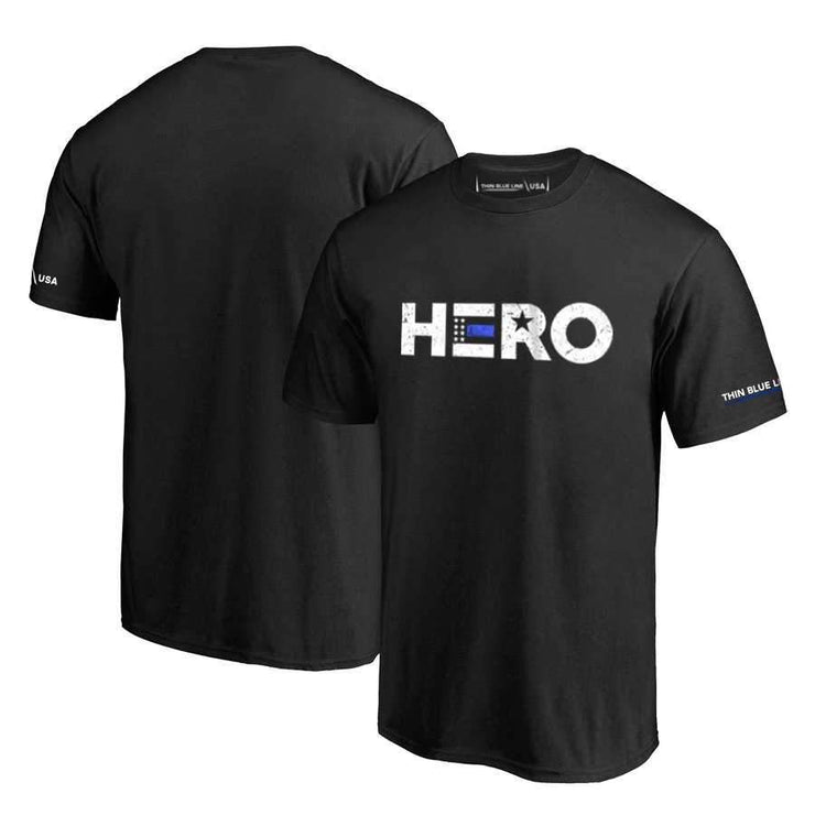 "Thin Blue Line ""HERO"" T-Shirt"