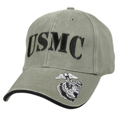 Low Profile Insignia Hat | U.S.M.C | Olive