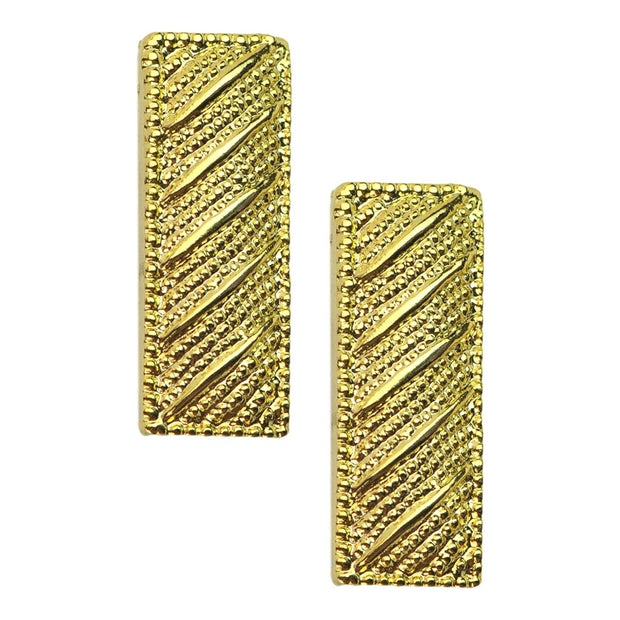 Lieutenant Rank Insignia Pins | Small | Gold or Silver