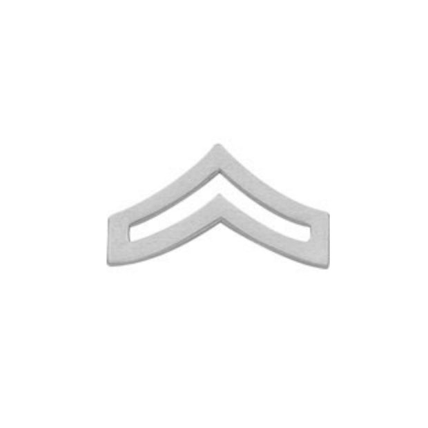 Corporal Collar Insignia | Large | Gold or Silver