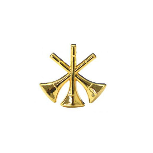 Bugle 3X Collar Insigina  | Gold or Silver