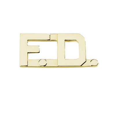 "Fire Department 1/2 "" Letters 