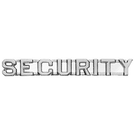 "Security Insignia 1/4"" Letter 