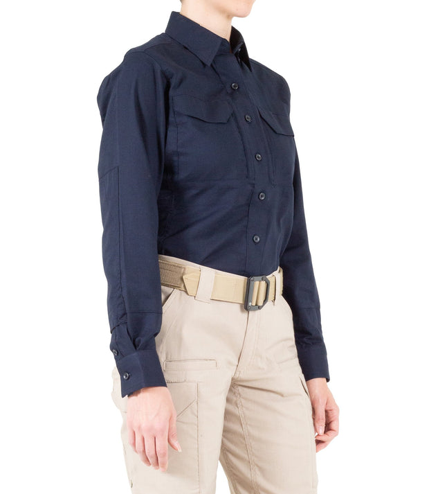 Ladies V2 Tactical Uniform Shirt Long Sleeve  | Navy, Black, White or Grey