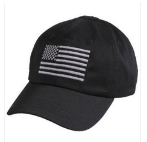 Tactical Operator Cap With US Flag | Black