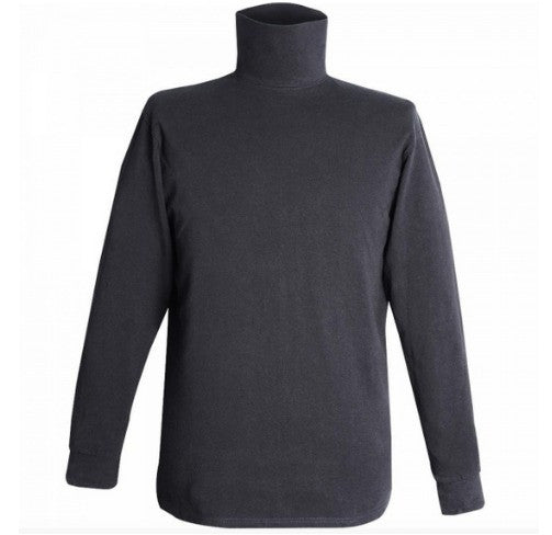 Flying Cross Turtleneck | Black