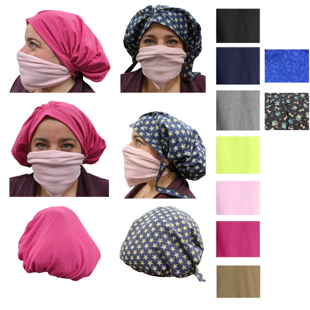 Reusable Hair Bonnets / Bouffants | Multiple Colors