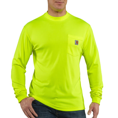 Carhartt Force Color Enhancced Long-Sleeve T-Shirt - Lime