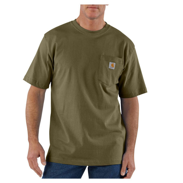 Workwear Pocket T-Shirt | Army Green