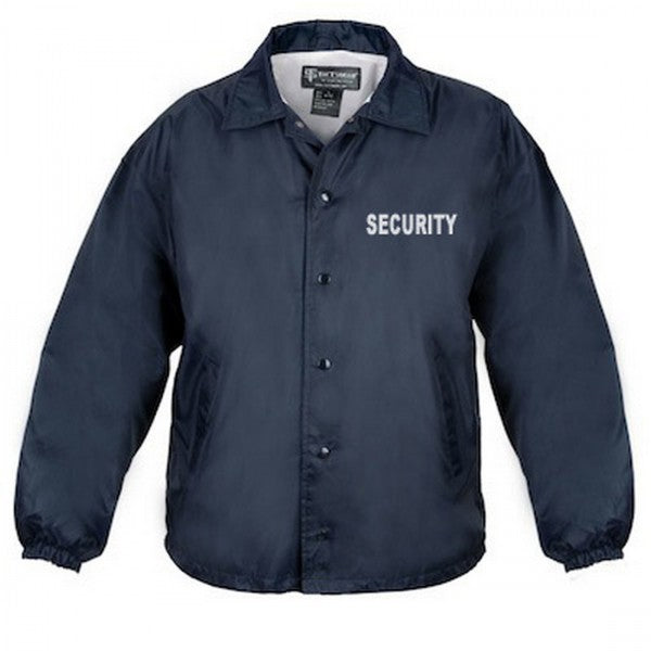 Classic Security Windbreaker Jacket | Navy