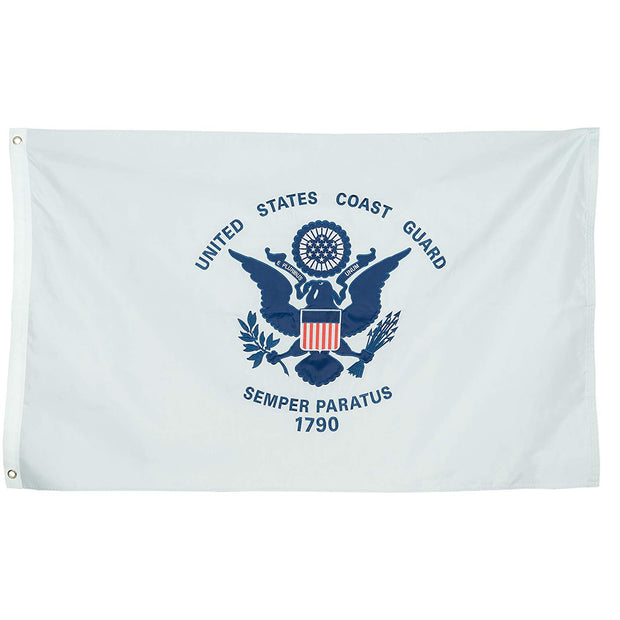 United States Coast Guard Double Sided Embroidered Flag | Multiple Sizes