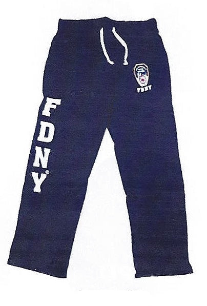 Officially Licensed FDNY Sweatpant | Navy