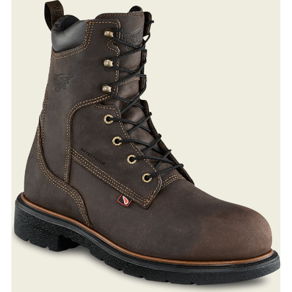 Red Wing 4442 Men's 400G Waterproof 8 Inch Safety Toe Boot