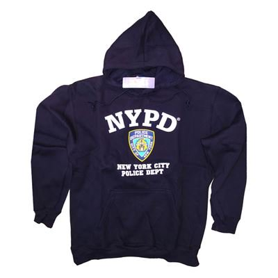 Officially Lisenced NYPD Kids Pull Over Hoodie | Navy