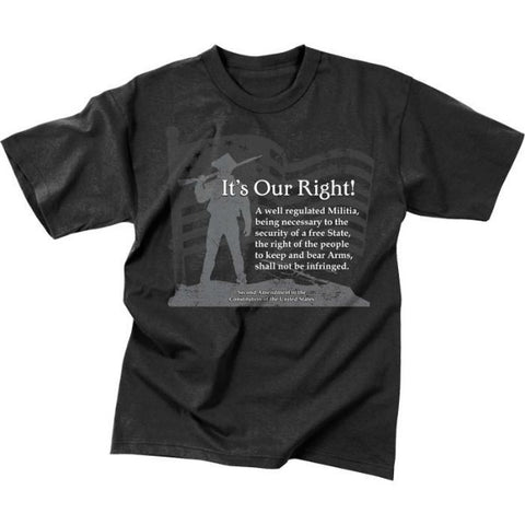 Vintage ''It's Our Right'' T-Shirt