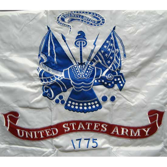United States Army Double Sided Embroidered Flag | Multiple Sizes