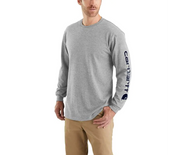 Carhartt Long Sleeve Signature Logo Tee | Multiple Colors