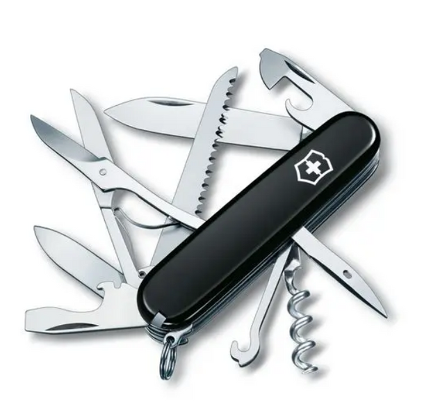 Huntsman Swiss Army Knife in Black